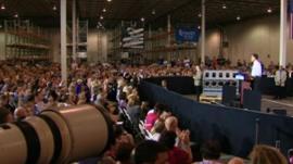 Mitt Romney rally