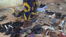 Aftermath of attack in Kaduna