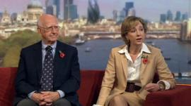 Sir Robert Worcester and Colleen Graffy on The Andrew Marr Show