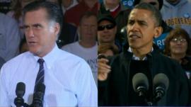 Mitt Romey & President Obama