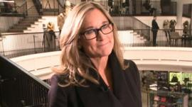 Burberry chief executive Angela Ahrendts