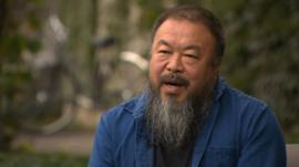 Chinese artist and dissident Ai Weiwei