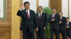 China leaders