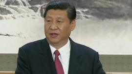 China's new Communist Party leader, Xi Jinping