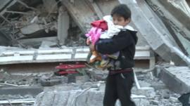 Child in Gaza