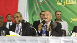 Ahmed al-Zind, head of Egypt's Judges' Club