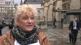 Caroline Shearer at Westminster