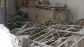 Alleged damaged telephone exchange