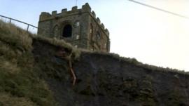 Cliffside in Whitby
