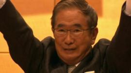 Former governor of Tokyo Shintaro Ishihara