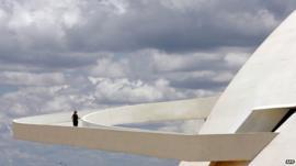 The ramp of Brasilia