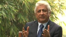 Ajit Gulabchand, chairman of Hindustan Construction Company