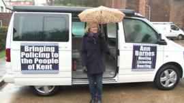Ann Barnes in Folkestone