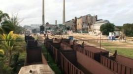 Cuba sugar mill