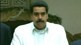 Venezuelan Vice President Nicolas Maduro
