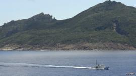 Senkaku isles in Japan, Diaoyu islands in China