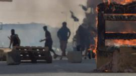 Clashes in Bahrain
