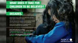 NSPCC campaign poster