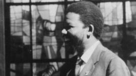 Nelson Mandela in the 1950s