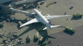 Dreamliner plane
