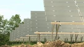 A solar park