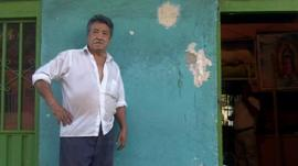 Luis Rios, Colombian refugee