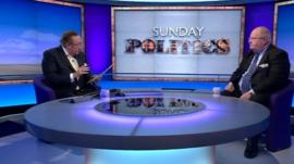 Andrew Neil and Eric Pickles