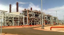 In Amenas gas facility