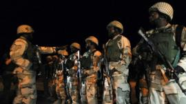 Nigeria troops