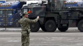 Patriot missiles arrive in Turkey