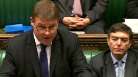 Defence Minister Mark Francois (left)