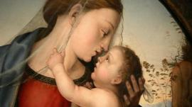 Detail from Fra Bartolommeo's Madonna and Child
