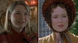 Scenes from Bridget Jones's Diary and Prode and Prejudice