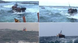 Images from the rescue
