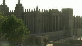 The ancient city of Djenne, five hundred kilometres north of the capital Bamako