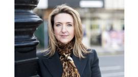 Reporter Victoria Derbyshire