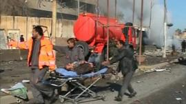 Man injured in bomb blast