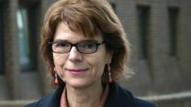 Vicky Pryce leaves Southwark Crown Court on 4 February