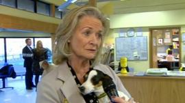 Clarissa Baldwin, chief executive Dogs Trust