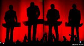 Kraftwerk gig in 2005