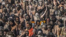 Indian worshippers
