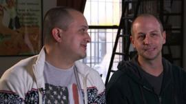 Jorge and Will explain how they found love online
