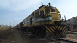 Nigerian train