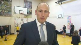 The BBC's Dan Roan