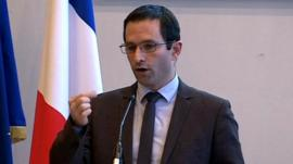 French consumer affairs minister Benoit Hamon
