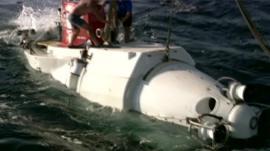 Submarine Alvin