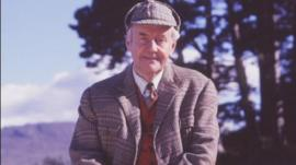 Actor Richard Briers