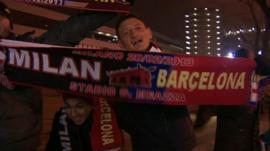 AC Milan fans