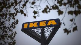 Ikea sign (file pic)