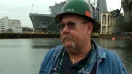 BAE Systems worker Thomas Ehret